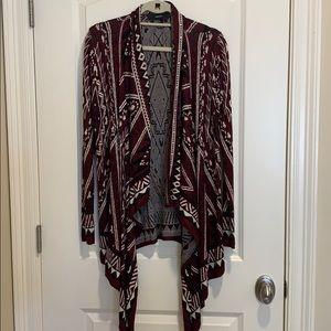 Forever 21 Aztec Print Cardigan Sweater